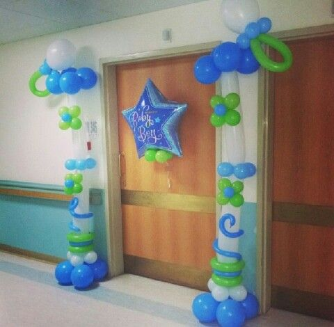 hospital door decoration baby boy babiesbaby shower