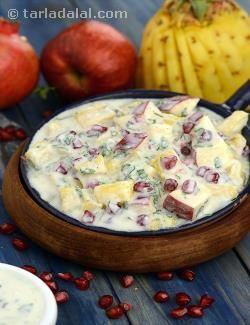 13 best raitas images on pinterest cooking food indian food fresh fruit raita calcium rich recipe recipe by tarla dalal tarladalal forumfinder Gallery