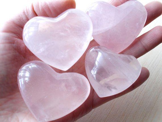 Rose Quartz Heart Rose Quartz Crystal Healing
