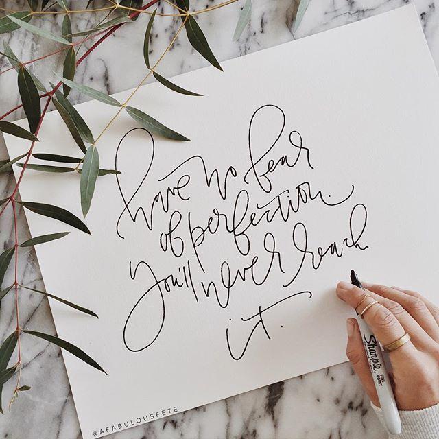 Sharpie lettering | A Fabulous Fete