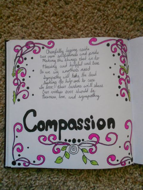 006 Compassion…an acrostic poem written by me Junior