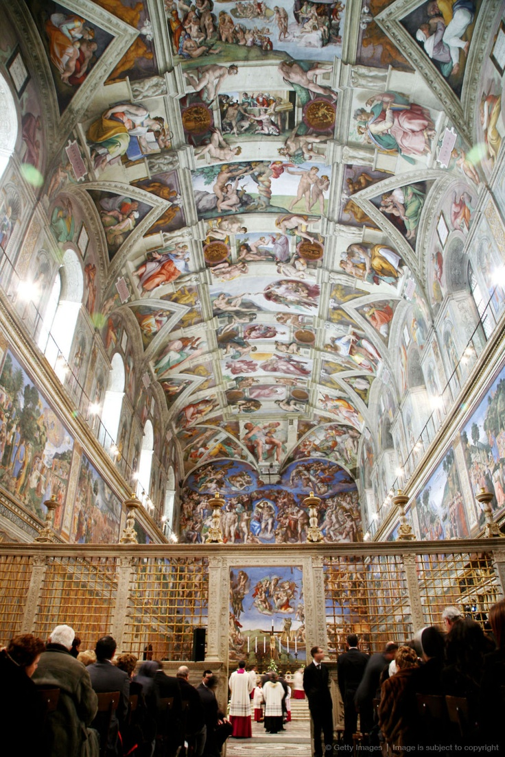 a look at the sistine chapel by michelangelo What most visitors won't know is that the sistine chapel has a history that is as inspiring to learn today as it was groundbreaking during michelangelo's day.