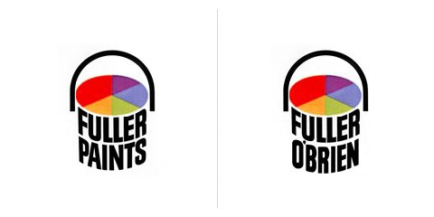 Saul Bass logo design: then and now.