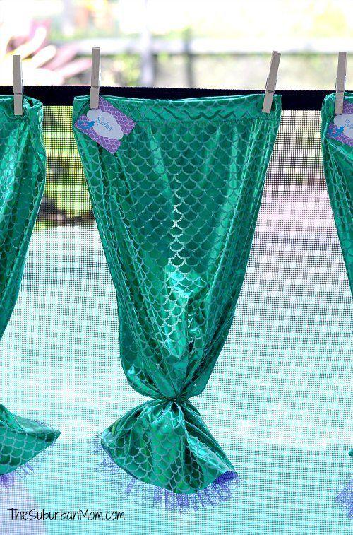 How To Make A Mermaid Tail ~ Tutorial | TheSuburbanMom