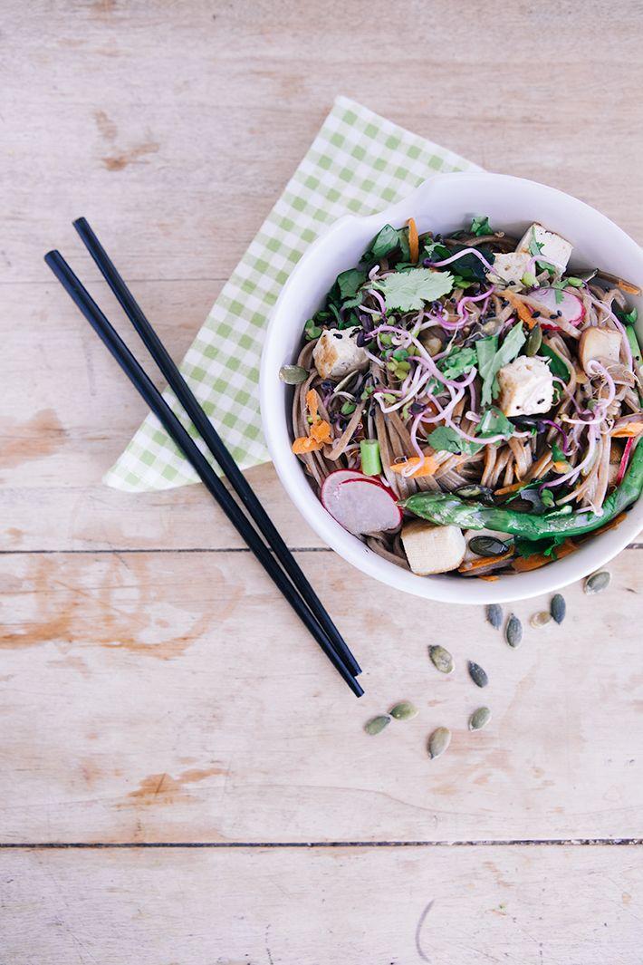 Ma recette de nouilles Soba, vegan et sans gluten (avec une touche de Tokyo)