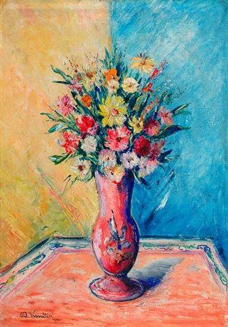 Zátiší (Květiny), 1930