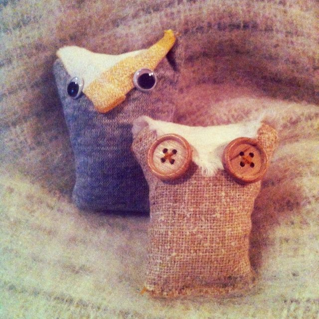 Scented Owl Hand warmers- TOO COOT!