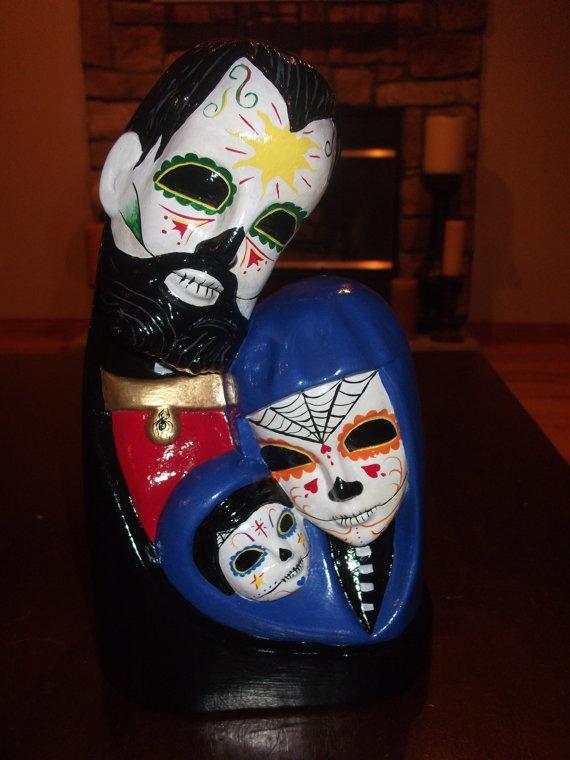 Trinidad, Dia de los Muertos. available at etsy.com