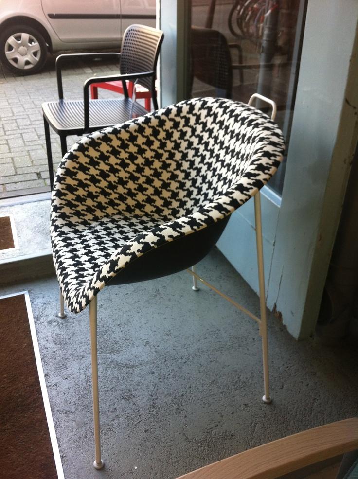 Euphoria Chair Pied de Poule dessin
