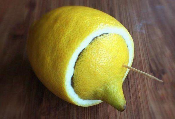Чтобы лимон не засыхал
