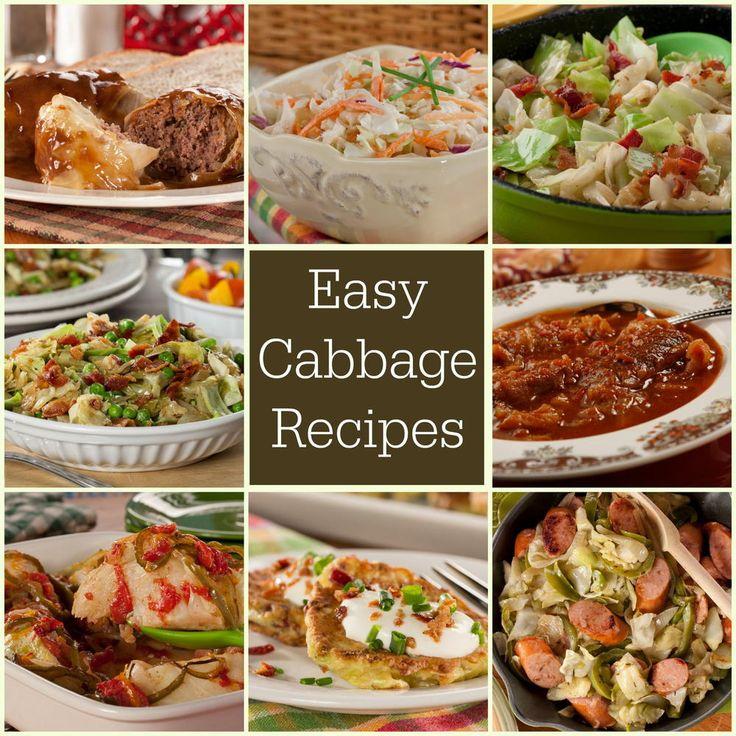 35 Easy Cabbage Recipes | MrFood.com