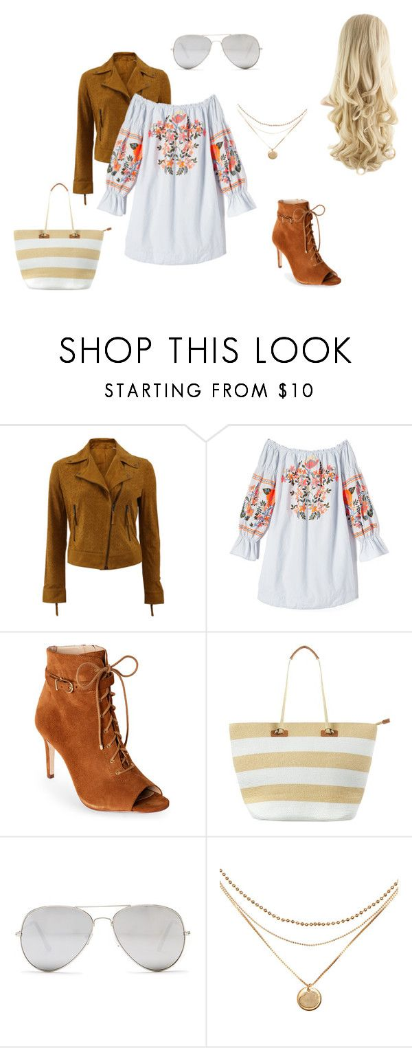 """""""Eté bohème"""" by ines-btx on Polyvore featuring mode, Meteo by Yves Salomon, Free People, Jones New York, Phase Eight et Sunny Rebel"""
