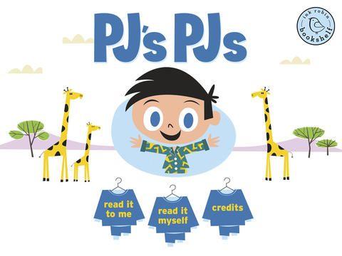 PJ's PJs giraffes er gratis. Der er 2 andre bøger om ham, men de koster. Denne er sød og til begynderengelsk, mellemtrinnet.