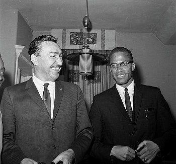 Adam Clayton Powell, Malcolm X