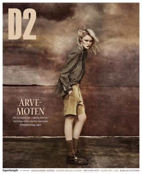 Agnes Karlsson by Carl Bengtsson, D2 Magazine, March 2012