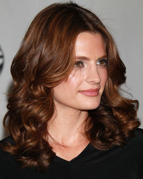 Stana Katic Medium Curls - Stana Katic looked ultra feminine with her thick, bouncy curls at the Disney ABC Television Group's Summer TCA party.