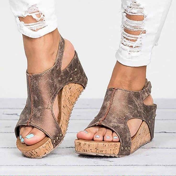 XDA 2019 fashion sandal Summer Women Flat Sandals Rope