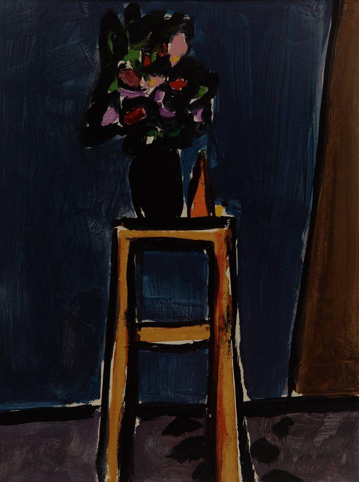 Donald Hamilton Fraser | Flowers on stool