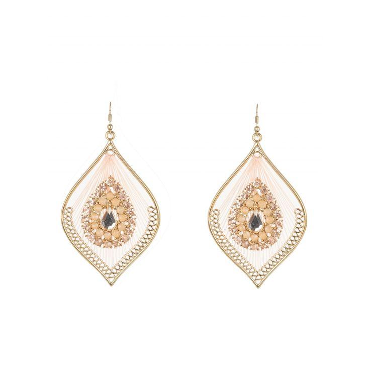 Glam Chandelier Earrings Gold