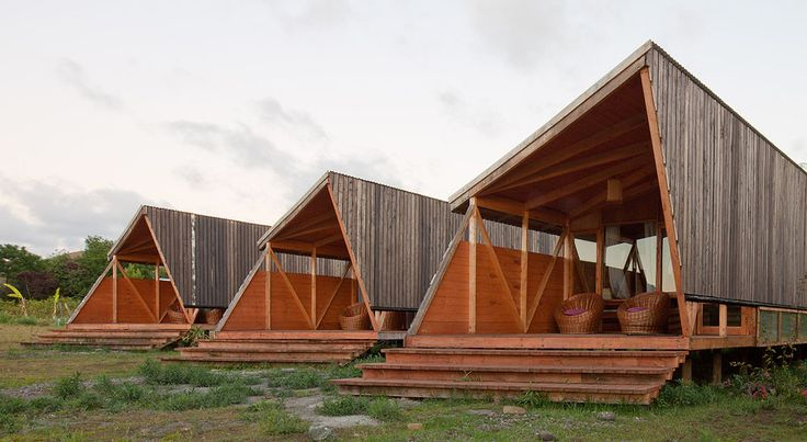 Morerava Cabins by AATA Associate Architects (Isla de Pascua, Valparaiso, Chile)