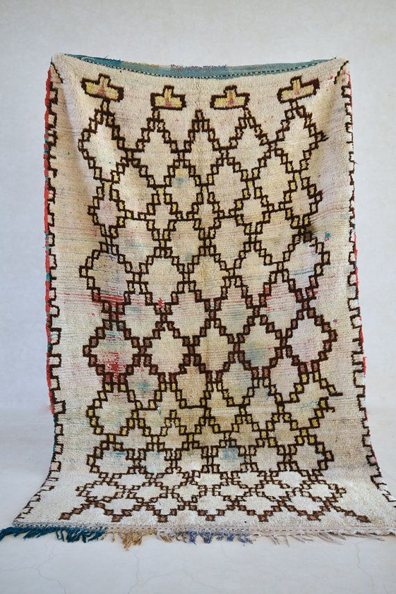 view from a big flying balloon x boucherouite rug tapis moroccan berber mid century modern design compliment - Tapis Color Fly