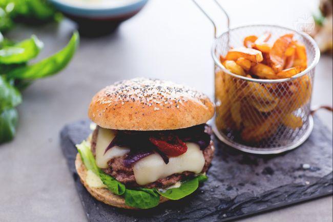 De 386 bedste billeder fra recipes p pinterest - Herve cuisine hamburger ...