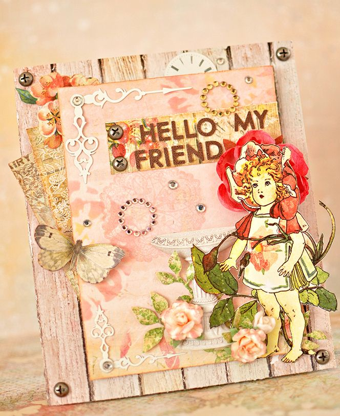 Card by Maiko Miwa featuring the Ingvild Bolme line by Prima