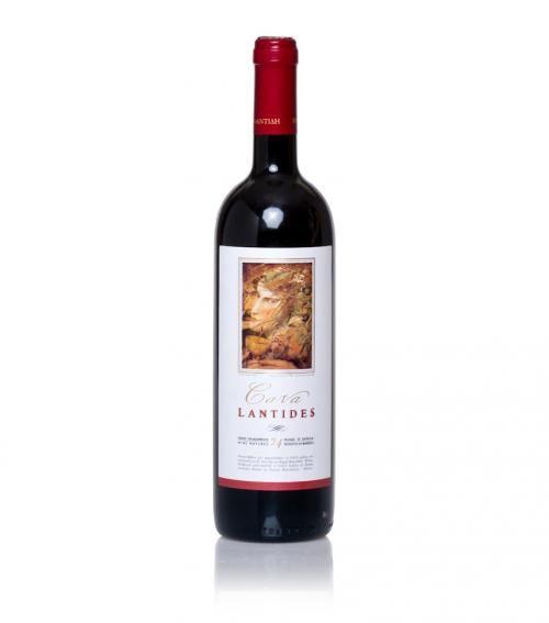"""Cava Lantides"" red wine 750m @ just 21.00€"