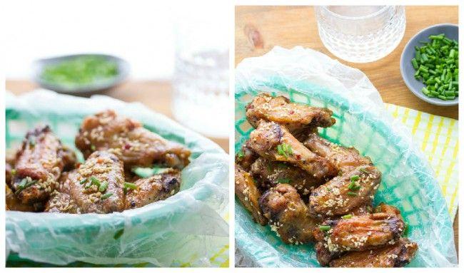 Συνταγή: Εμπνευσμένες Κορεάτικες φτερούγες κοτόπουλου!