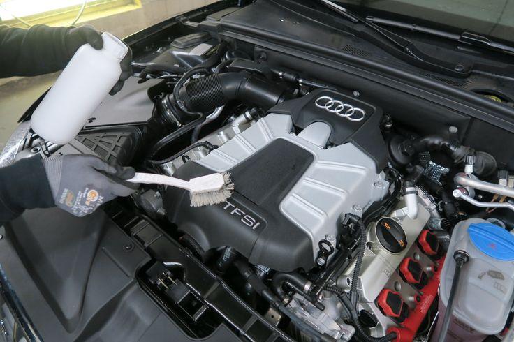 Detailarbeit Motor