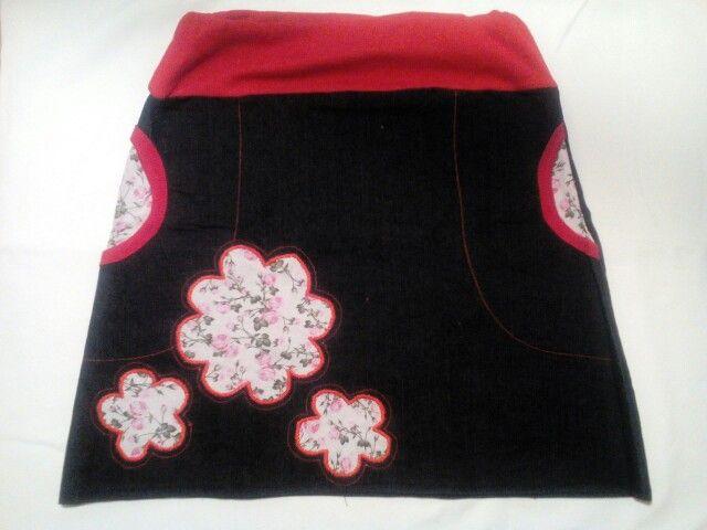 První sukně riflová