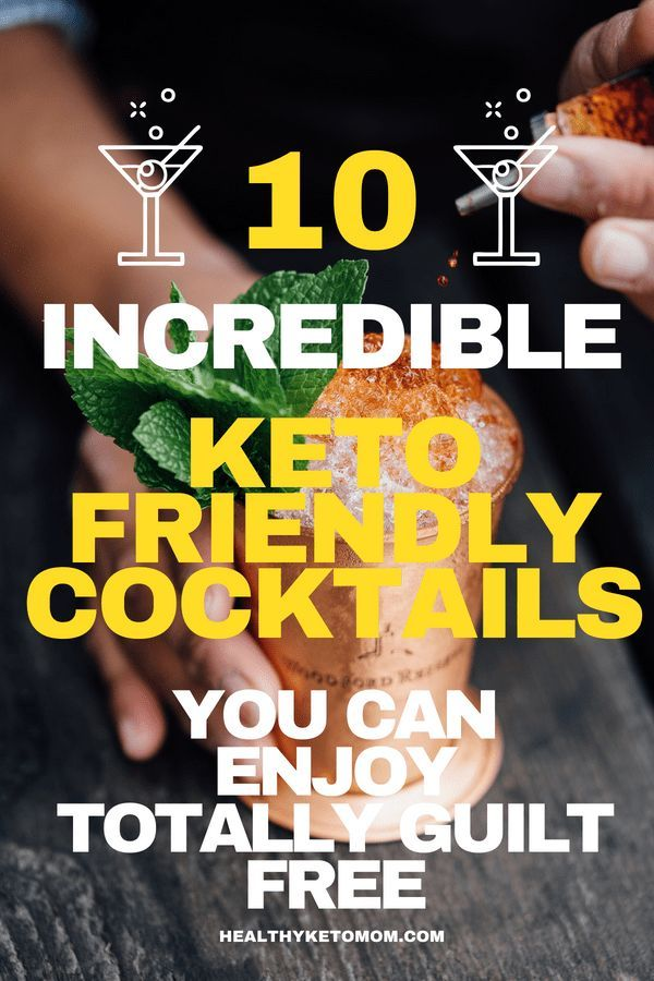 Are you looking for some keto alcoholic recipes? Try these delicious low carb ke...