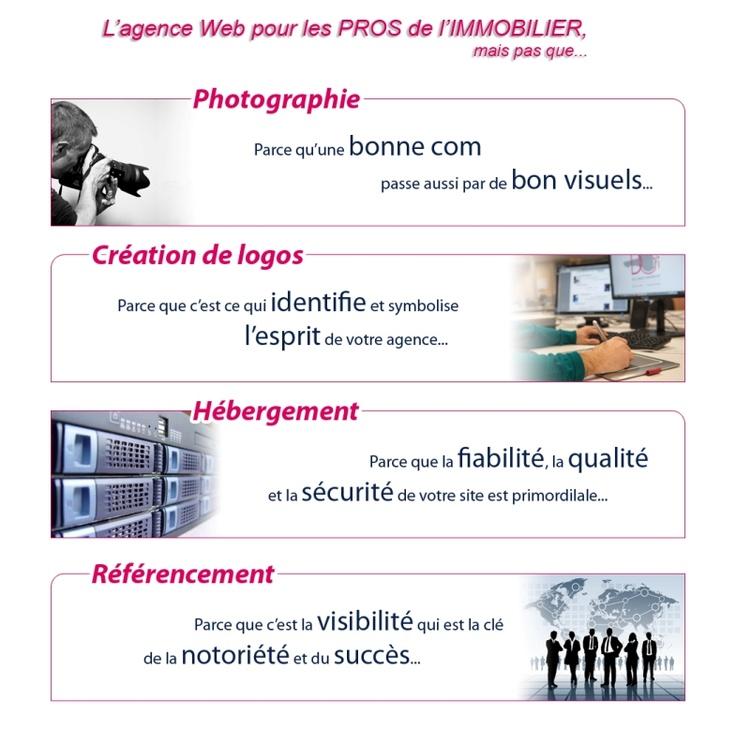La création de sites internet mais pas que... #PagesIMMOweb #web