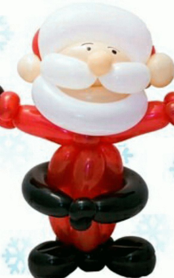 101 best ideas about balloons for xmas on pinterest for Candy cane balloon sculpture