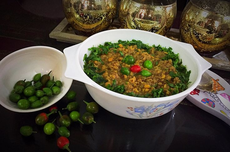 Channa Dal Gosht is not too spicy. It's very healthy as it contains proteins from the mutton and healthy nutrients from the daal. #Daal #pulses #food #recipes #foodies #cheflingtales