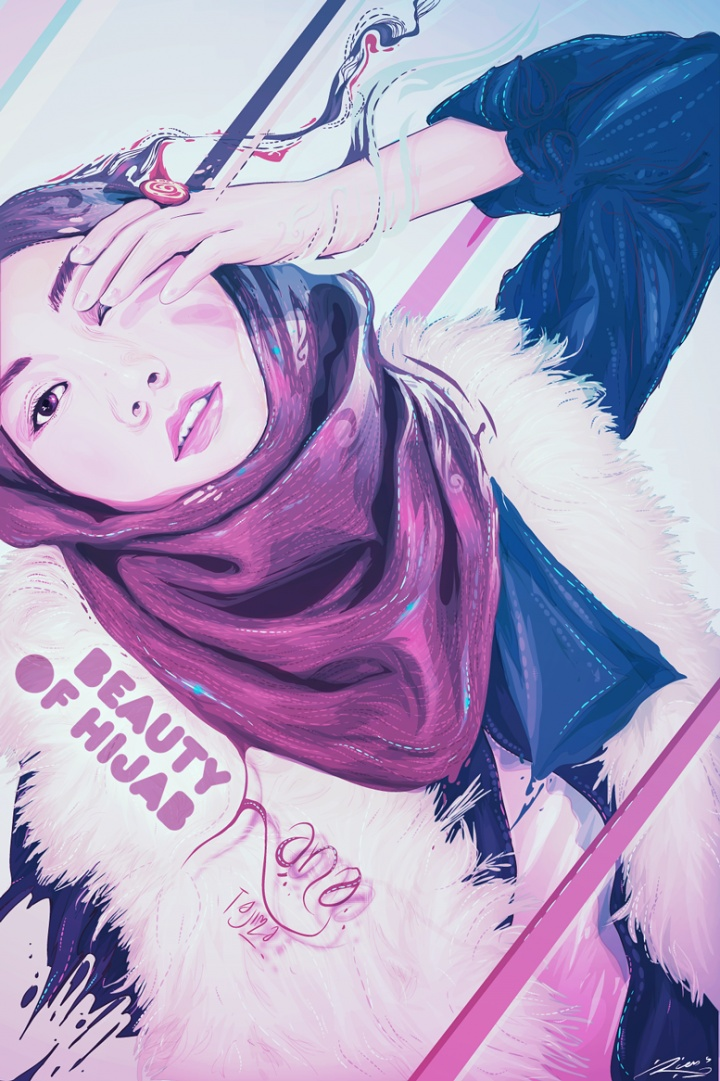 Rian S - Hana Tajima; Beauty of Hijab