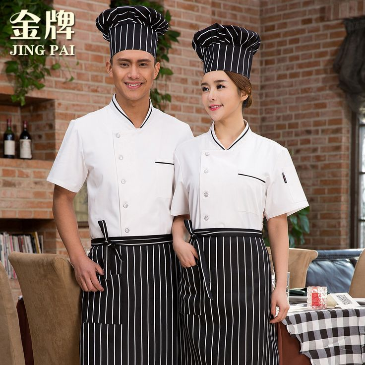 Women Chef Uniform Chef Uniform Real Hot Sale Cotton Accessories Broadcloth Hotel Work Clothes Men And Half Sleeve Clothing