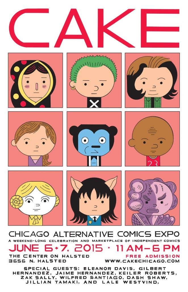 CAKE: Chicago Alternative Comics Expo (2015 Event)