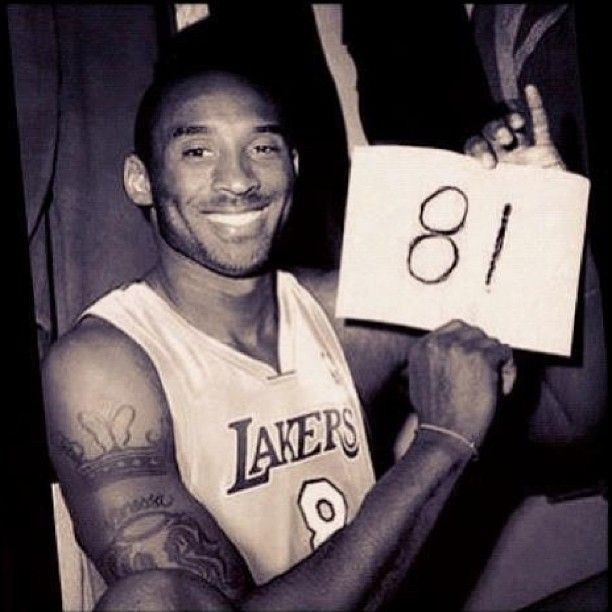 The legendary Kobe Bryant-81