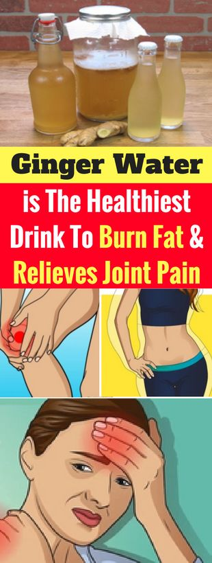 Ginger Water is The Healthiest Drink To Burn Fat And Relieves Joint Pain – healthycatcher