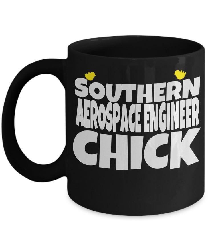 Funny Aerospace Engineering Gifts - Aerospace Engineer Mug - Southern Aerospace Engineer Chick