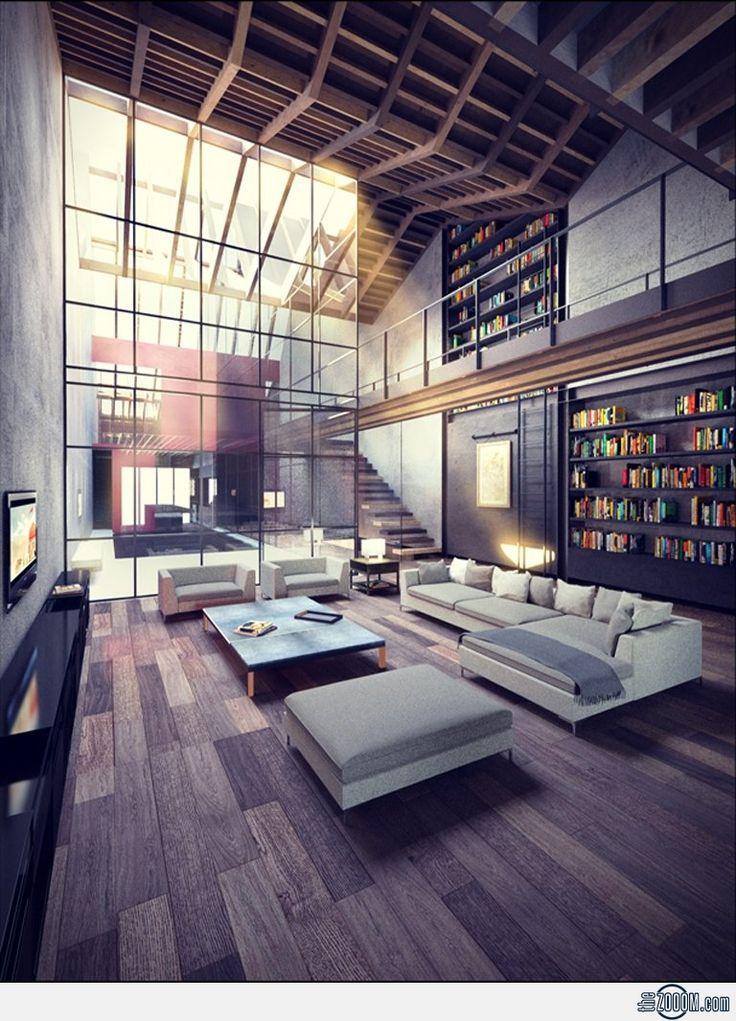 Loft Apartment Interiors Pinterest Loft Loft