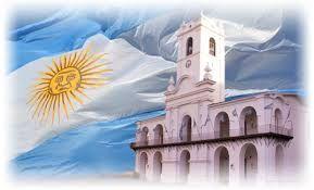 Resultado de imagen para bandera argentina sin sol