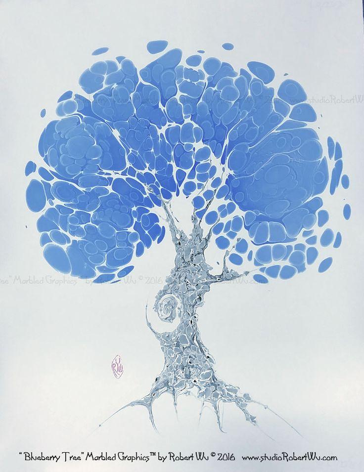 "The Marbling Art of Robert Wu: The Original ""Marbled Graphics""™ by Robert Wu"