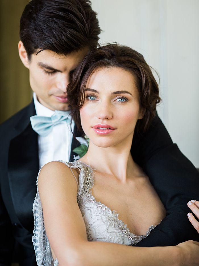 Vintage Glam Wedding Photos    #wedding #weddings #fineartweddings #weddingideas #filmphotography #vintagewedding #brideandgroom #weddingphotos #portraits #makeup #beauty