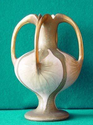 Amphora Austria Pottery Paul Dachsel Superb Vase CA 1900 Turn Teplitz RSTK | eBay