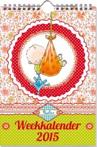 Babyshop@Home - Pauline Oud Weekkalender 2015 Kalender