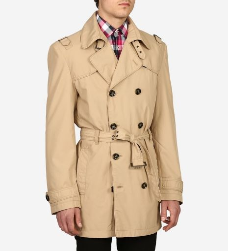Liverpool Trench Coat by Haight & Ash $350 | Haight & Ashbury redefine a classic. Not simply for spies, superheroes or singing in the rain, the trench has become a wardrobe staple for dashing men everywhere. Their ultra chic version is modern and versatile | GOTSTYLE.ca