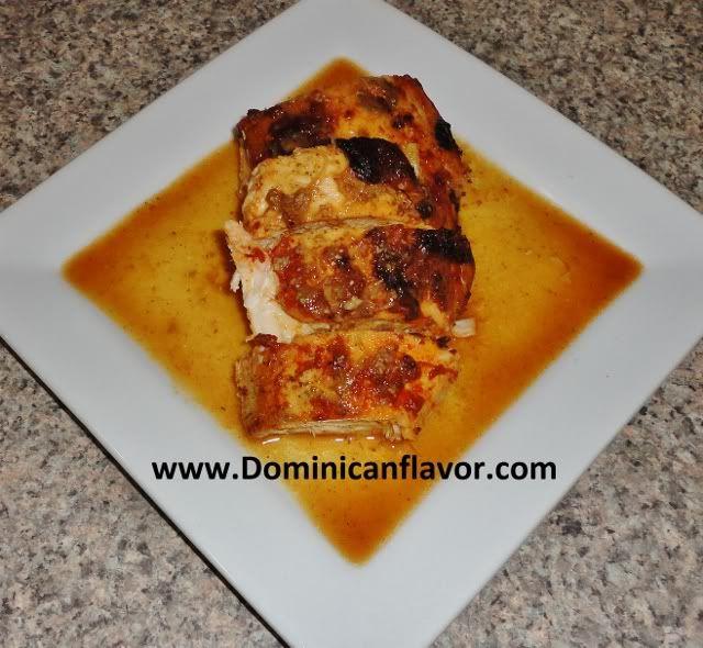 Dominican style Roasted Turkey/Pavo Horneado Dominicano   Delicious Dominican Cuisine