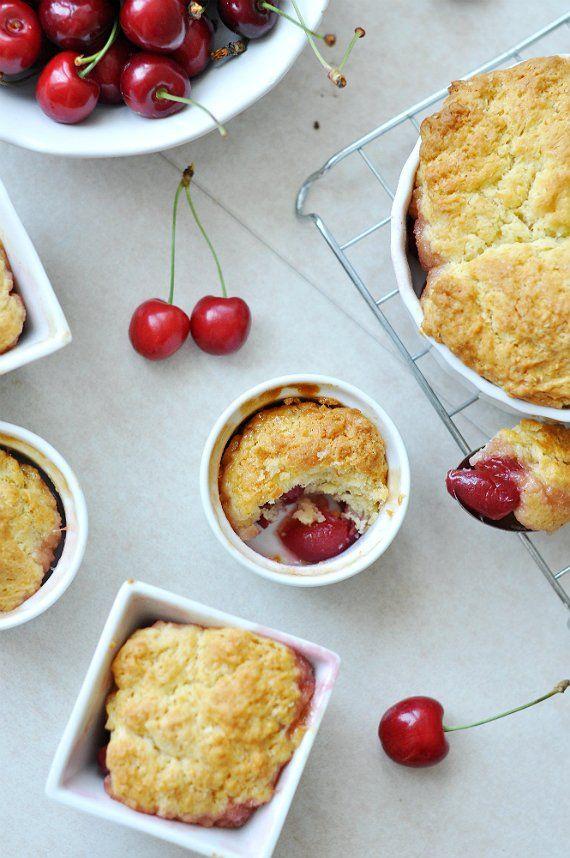 Cseresznyés-fahéjas könnyű nyári desszert | Csak a Puffin